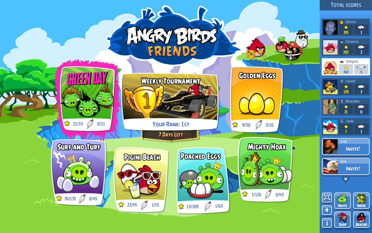 angry birds friends tutorial