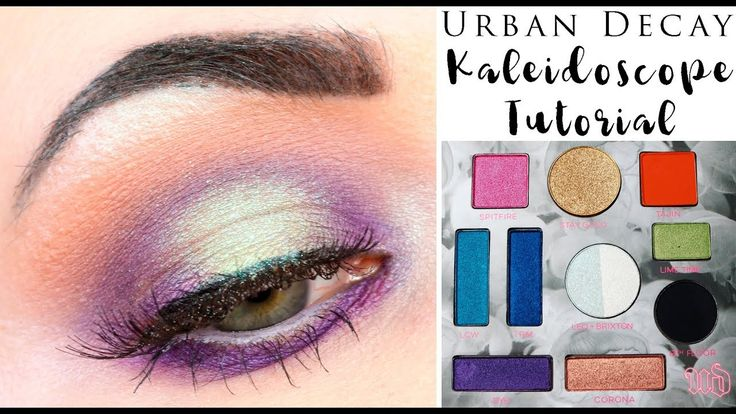 urban decay naked heat palette naked eyes tutorial