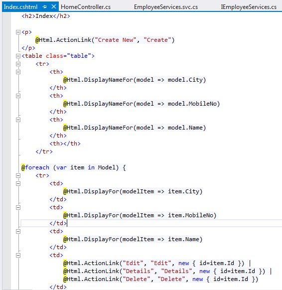 asp net mvc web service tutorial