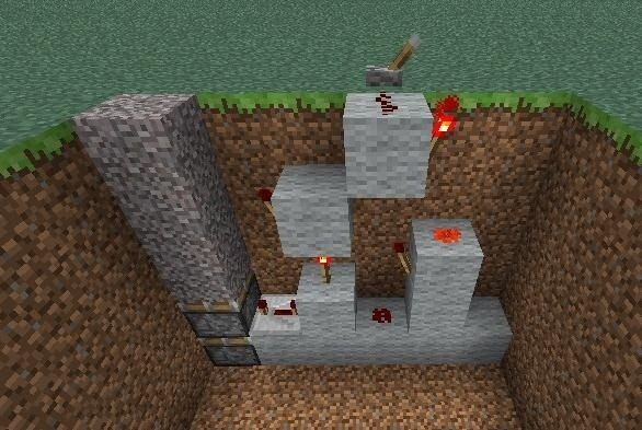 minecraft pe redstone creations tutorial