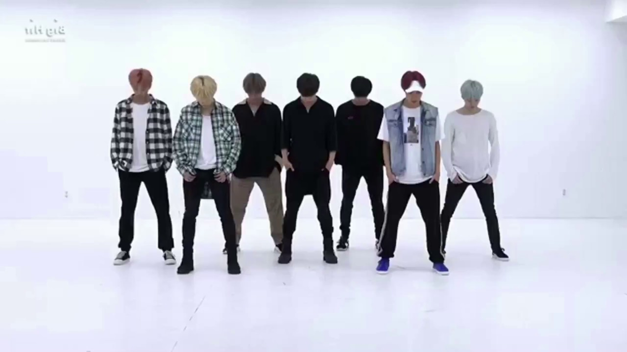 bts dna dance tutorial