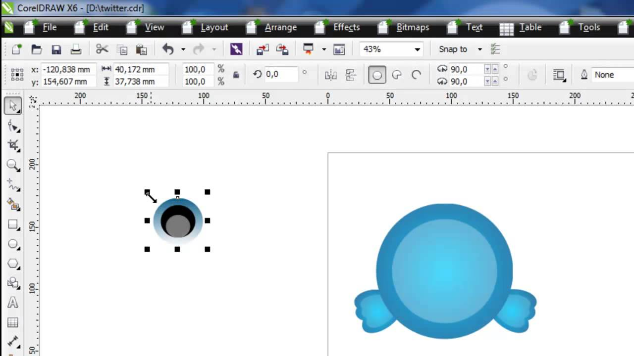 video tutorial corel draw