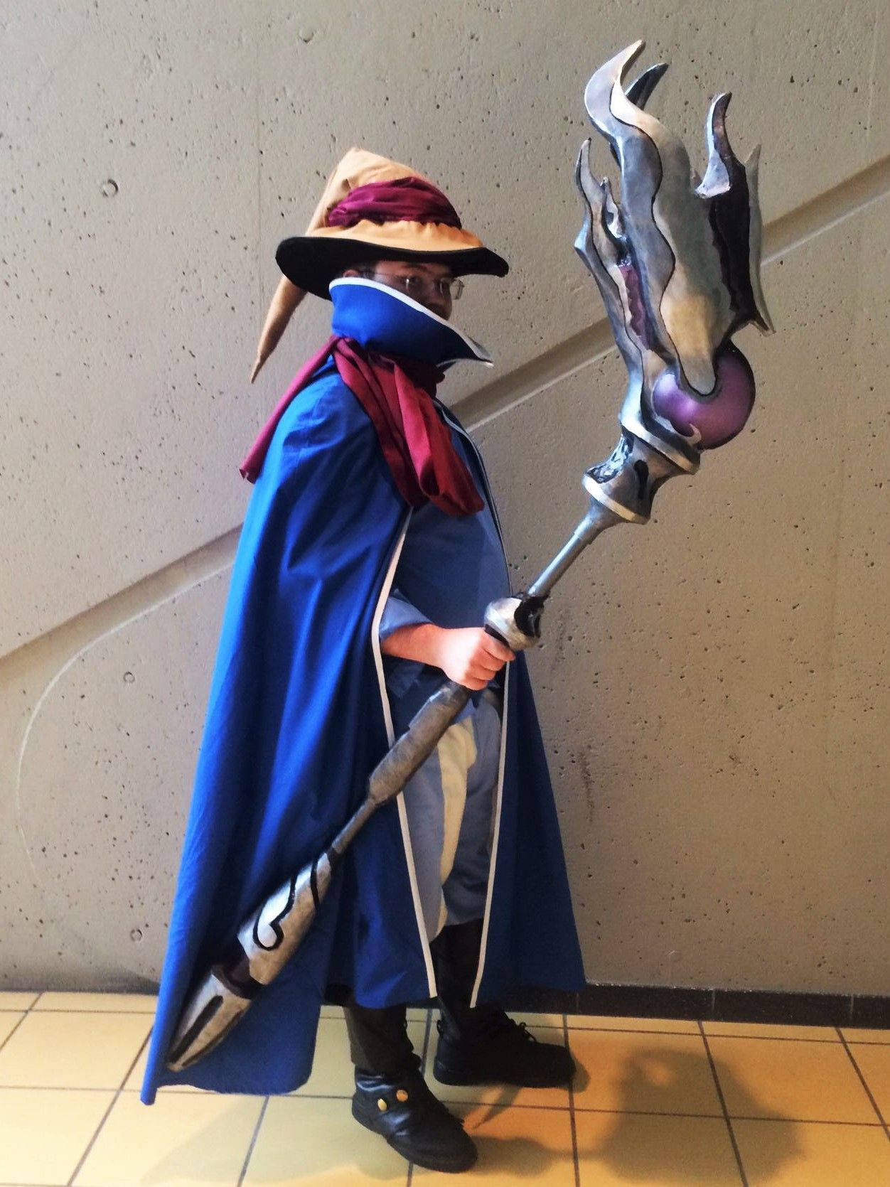 black mage cosplay tutorial