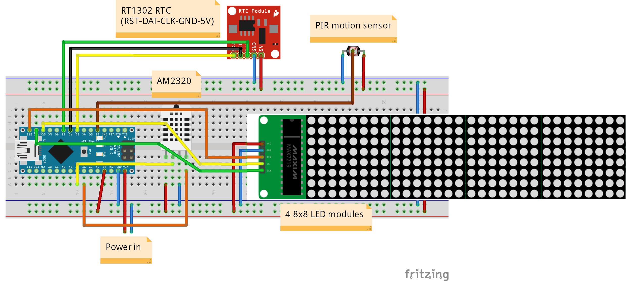 arduino 8x8 led matrix tutorial