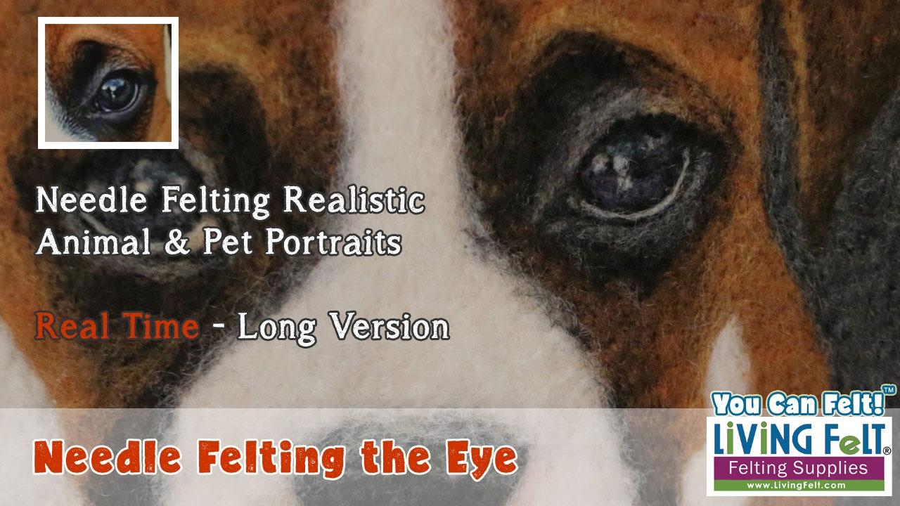 needle felting eyes tutorial