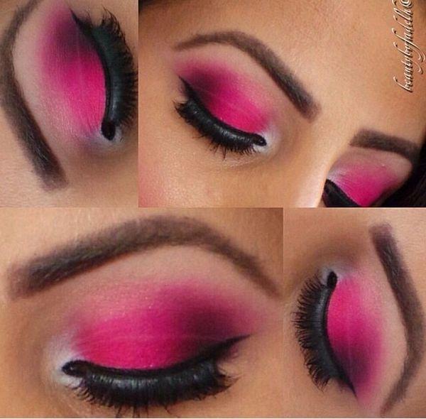 pink eyeshadow tutorial for beginners