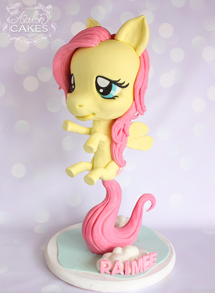 my little pony cake topper tutorial