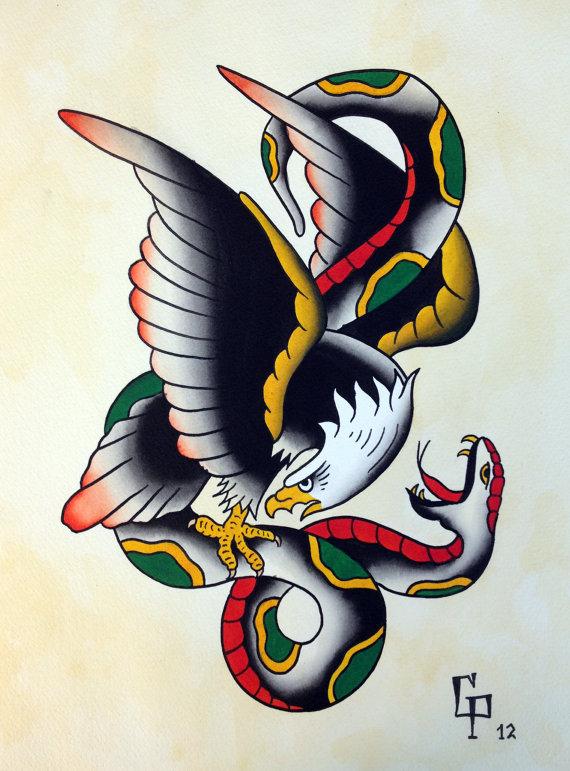 neo traditional tattoo tutorial