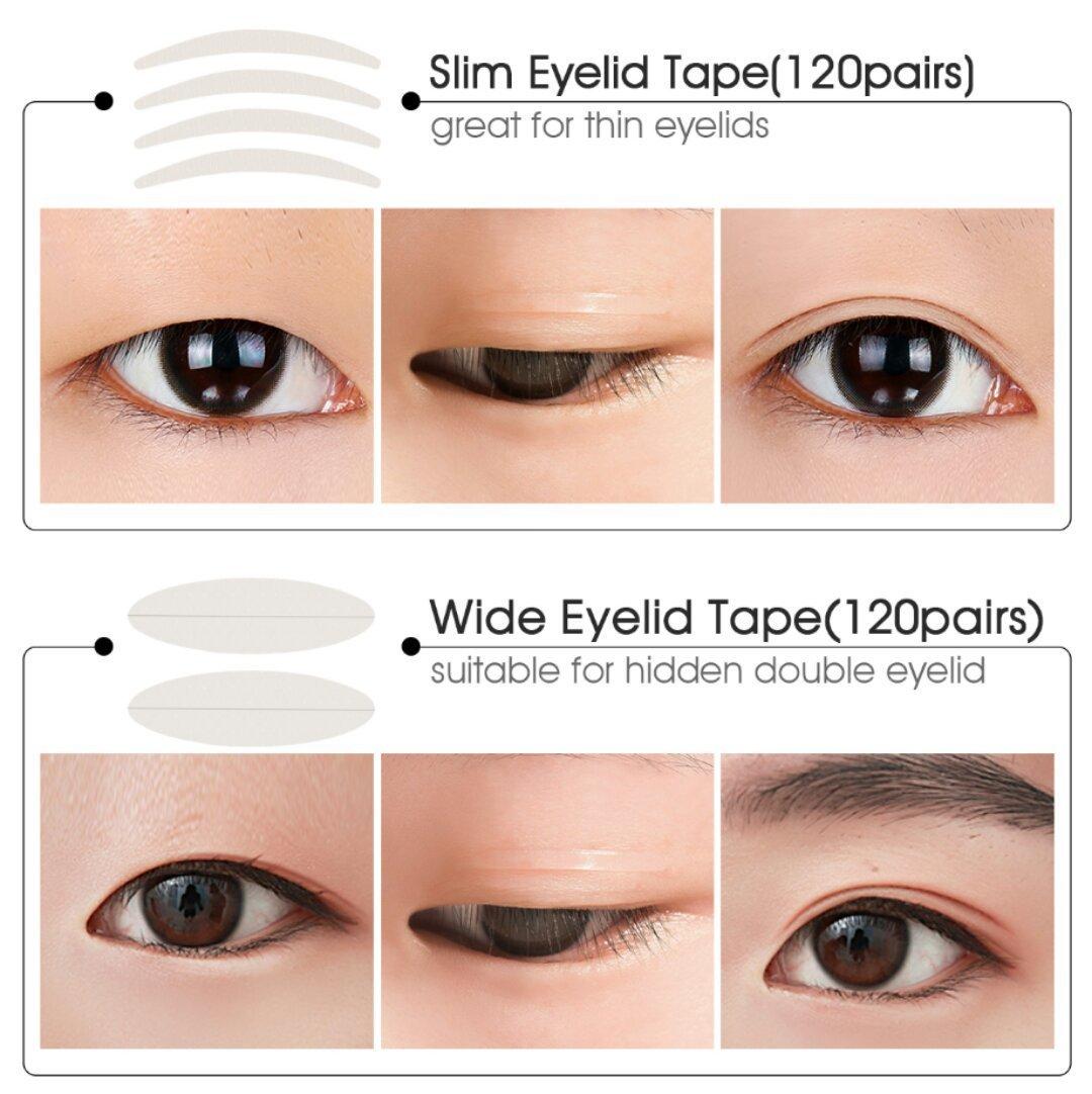 single eyelid makeup tutorial