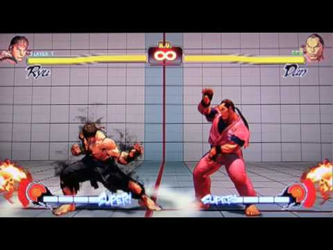street fighter 4 moves tutorial