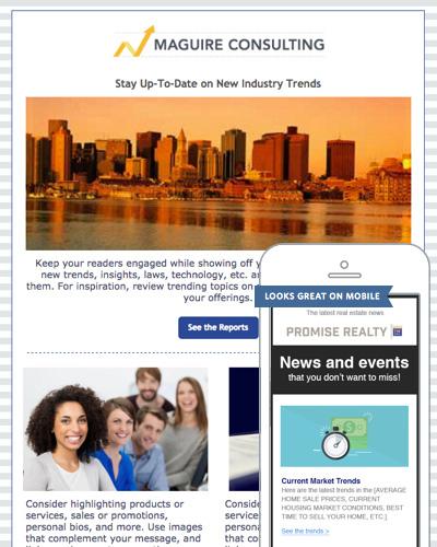 constant contact newsletter tutorial