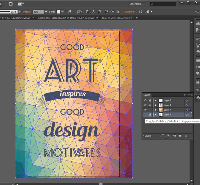 adobe illustrator poster tutorial