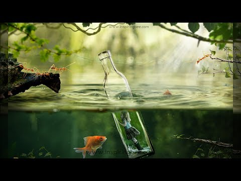 underwater scene photoshop tutorial