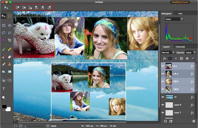 photo image editor pixelstyle tutorial