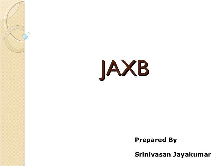 jaxb tutorial for beginners