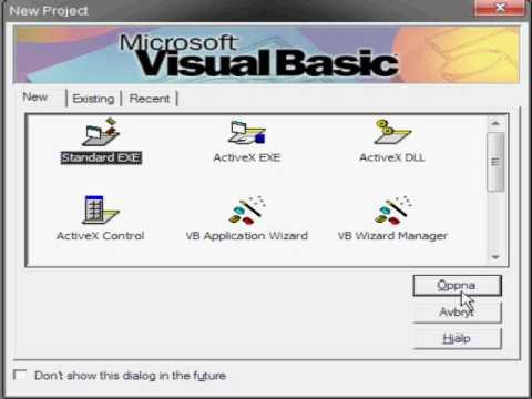visual basic 6 video tutorial
