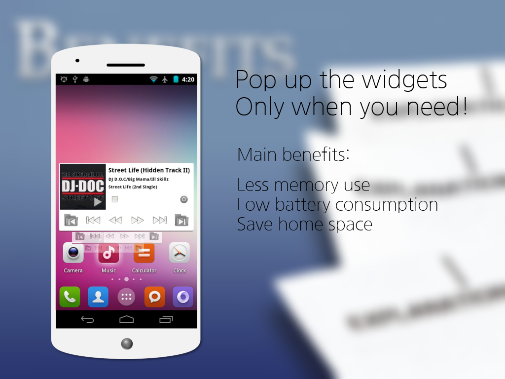 android app widget tutorial