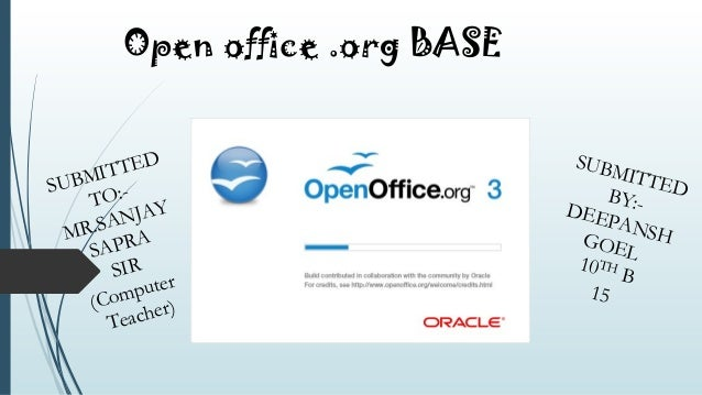open office writer tutorial ppt