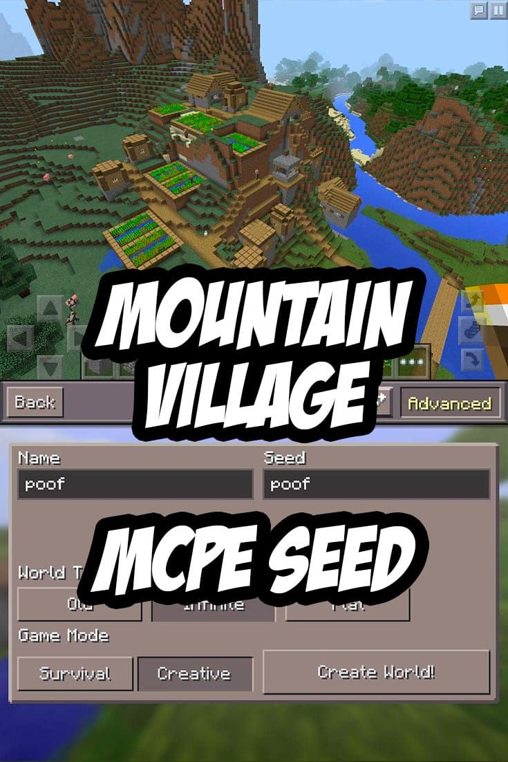 minecraft pe tutorial seed