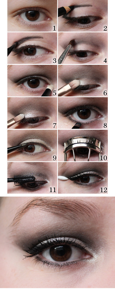 cat eye tutorial for hooded eyes