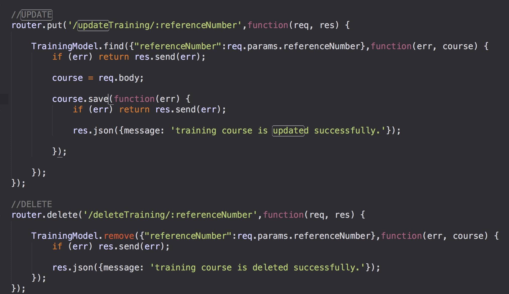 node js express and mongoose tutorial