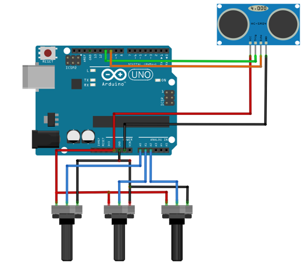 arduino distance sensor tutorial