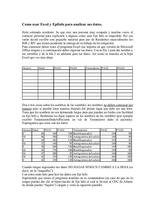 epi info 7 tutorial