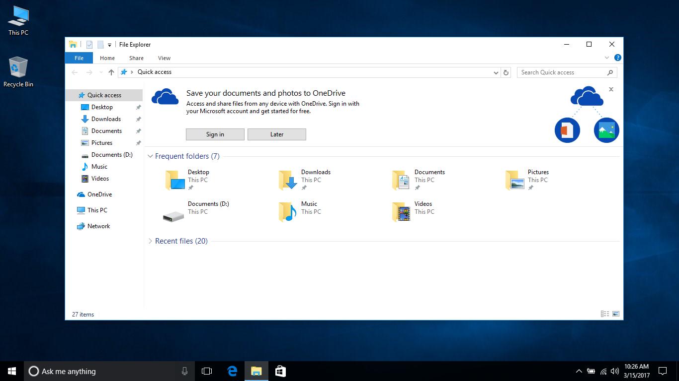 windows 10 tutorial 2017
