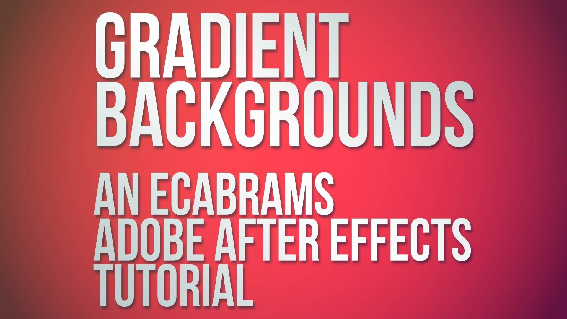 after effects typography tutorial