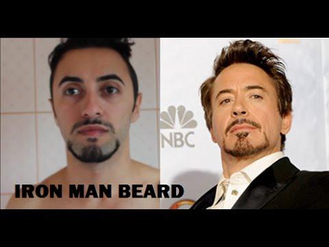 tony stark beard tutorial