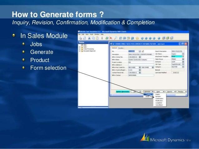 microsoft dynamics nav 2013 tutorial