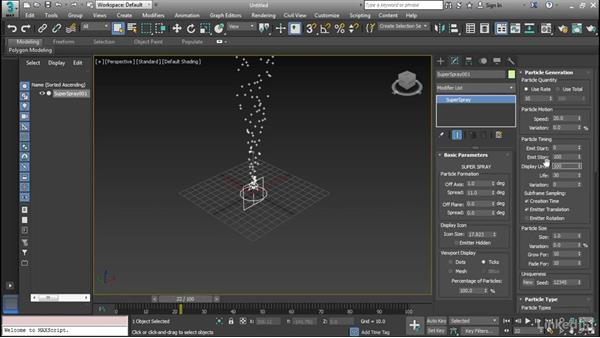 3ds max particle system tutorial