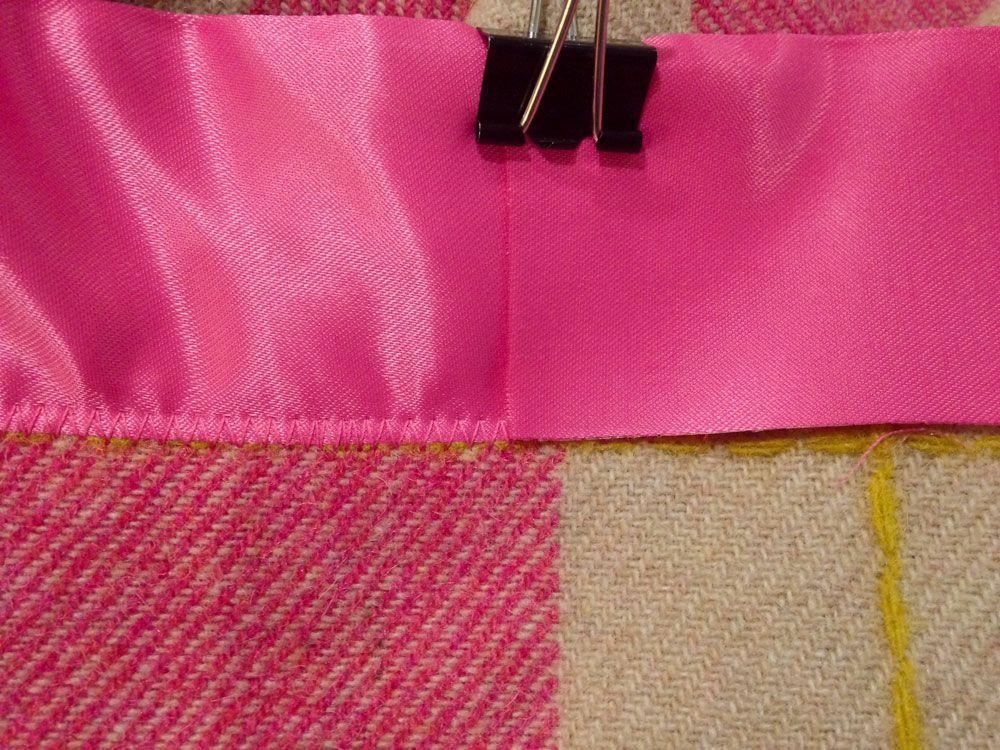 satin blanket binding tutorial