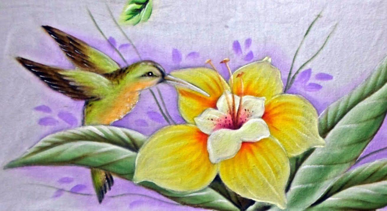 tutorial para pintar en tela