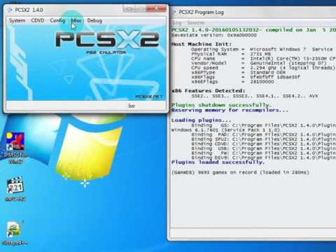 pcsx2 1.4 0 bios tutorial
