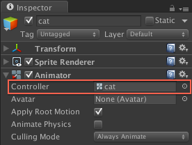 unity animation controller tutorial
