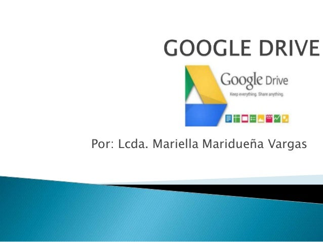 google drive tutorial ppt