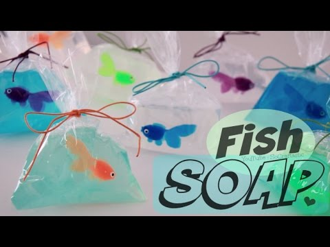 fish in a bag soap tutorial