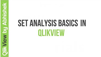qlikview set analysis tutorial