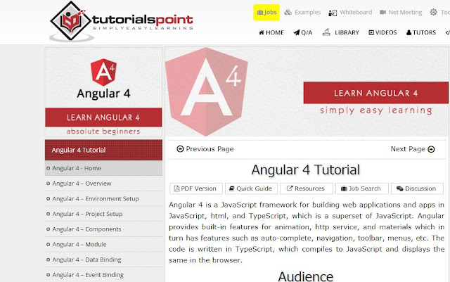angular 5 tutorial w3schools