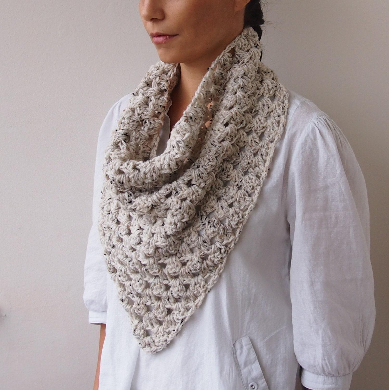 crochet infinity scarf tutorial