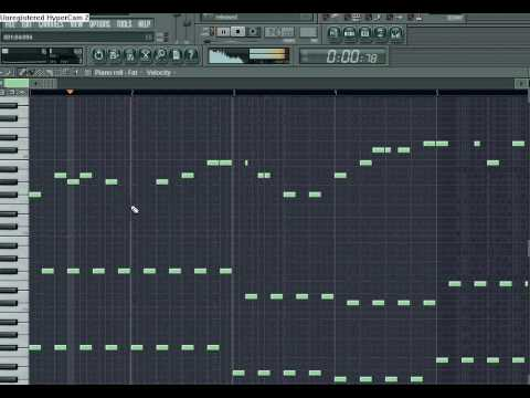 fl studio melody tutorial