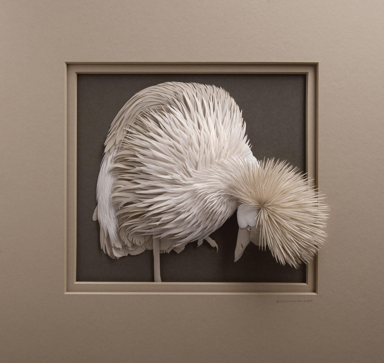 paper relief sculpture tutorial