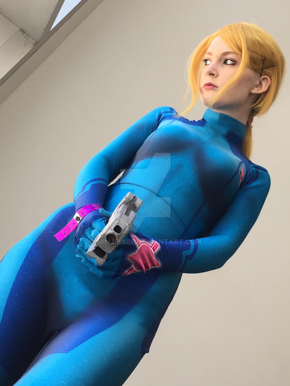 zero suit samus cosplay tutorial
