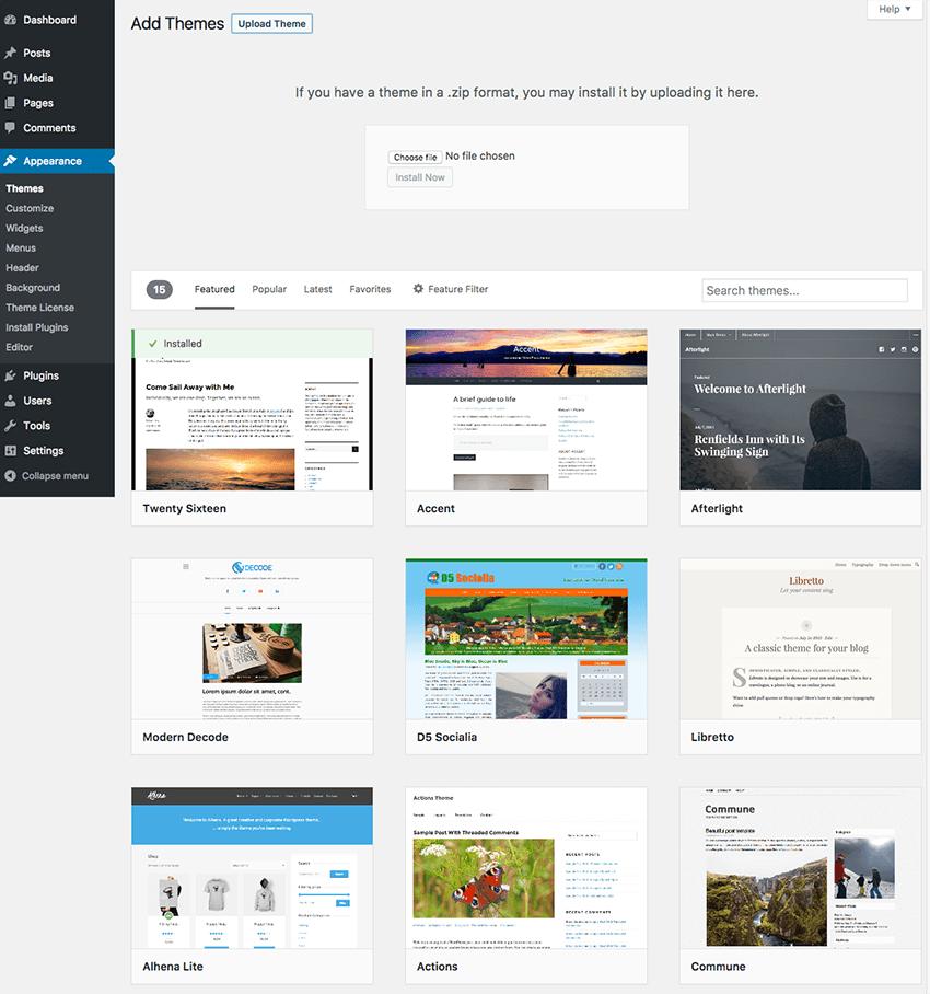 wordpress business website tutorial