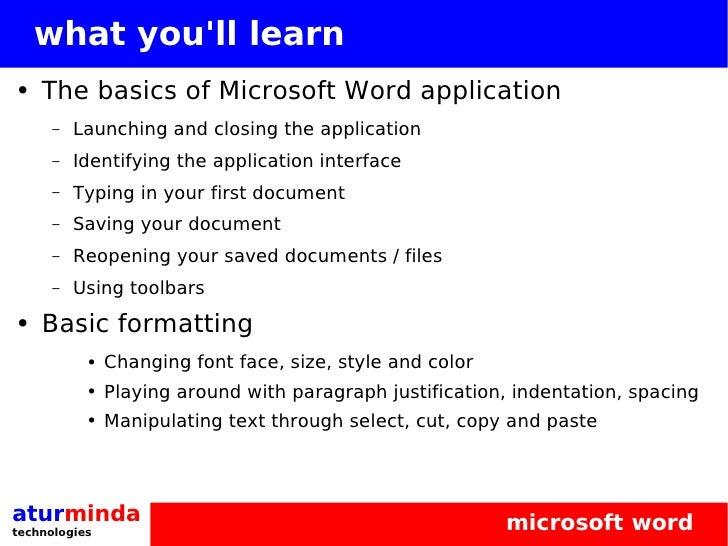 microsoft office 2003 tutorial
