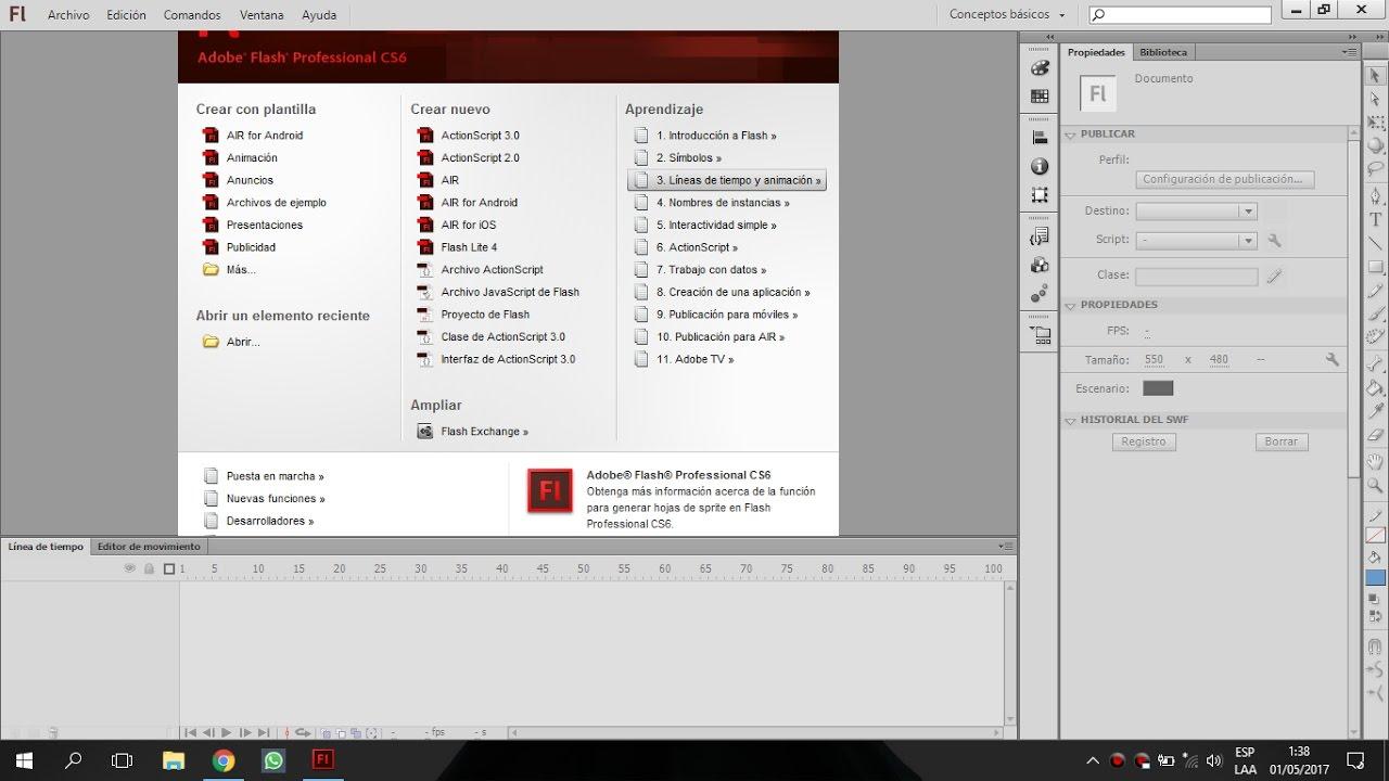 adobe flash cs4 professional tutorial