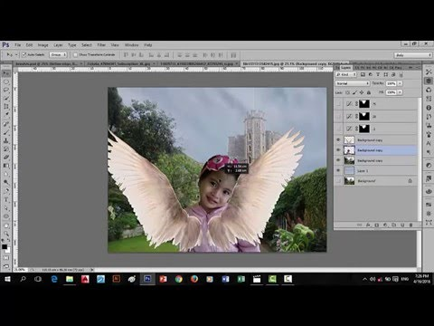photoshop cs6 refine edge tutorial