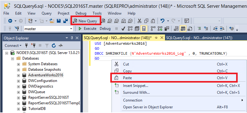 sql server scripting tutorial