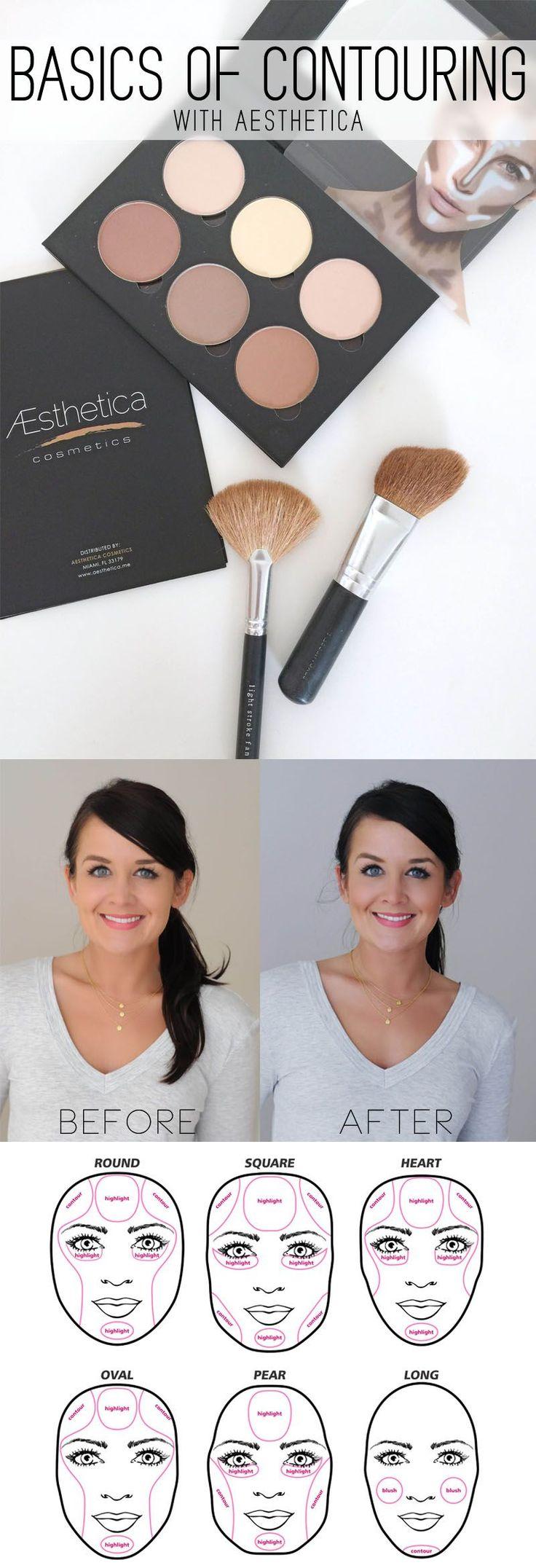 oval makeup brush tutorial